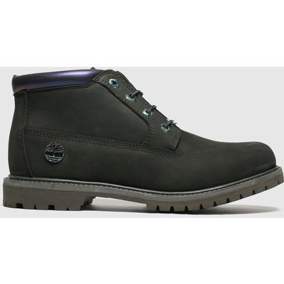 Timberland Dark Green Nellie Chukka Double Boots