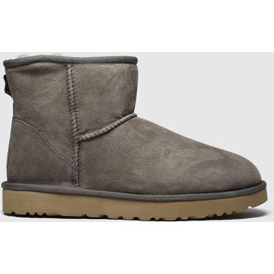 Ugg Light Grey Classic Mini Ii Boots