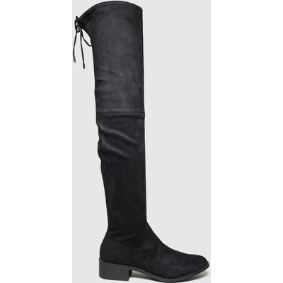 Schuh Black Faster Boots