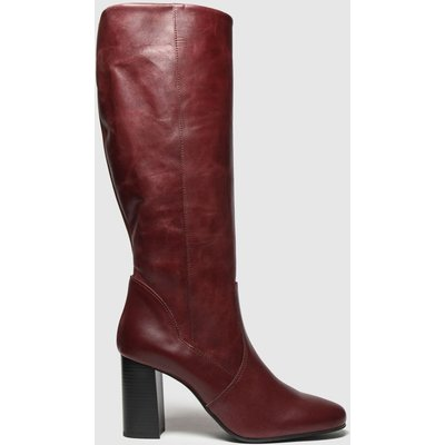 Schuh Burgundy Enchanter Boots