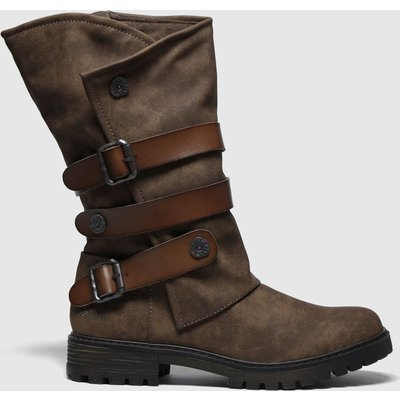 Blowfish Brown Rider Vegan Boots