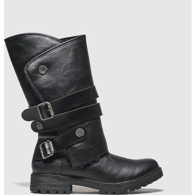 Blowfish Black Rider Shearling Boots