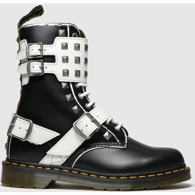 Dr Martens Black & White 1490 Joska Stud Boots