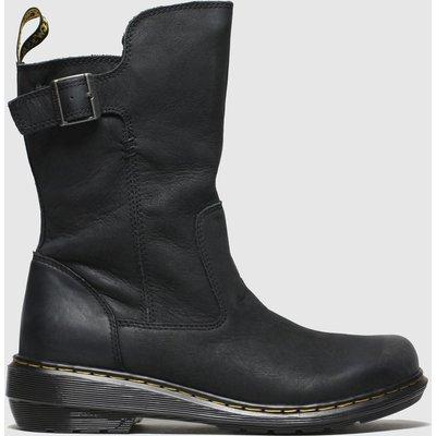 Dr Martens Black Vaux Mid Boots