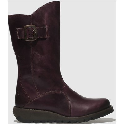 Fly London Purple Mes 3 Boots