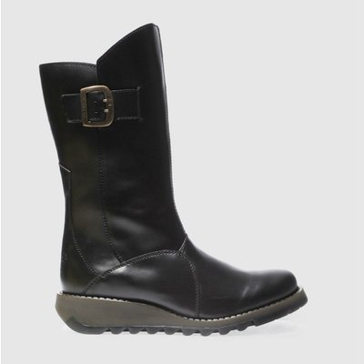 Fly London Black Mes 3 Boots