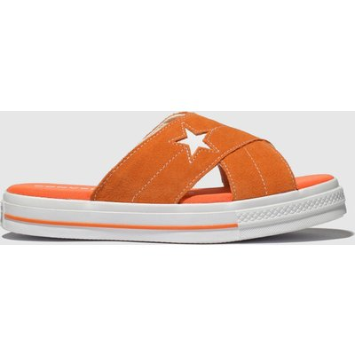 Converse Orange One Star Sandal Sandals