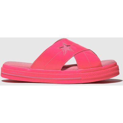 Converse Pink One Star Opi Sandals