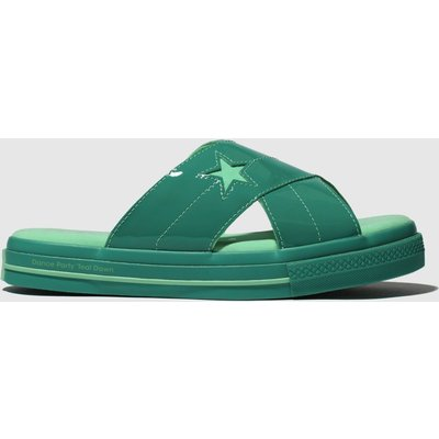 Converse Green One Star Opi Sandals