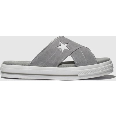 Converse Light Grey One Star Sandal Sandals