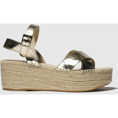 Schuh Gold Stockholm Sandals