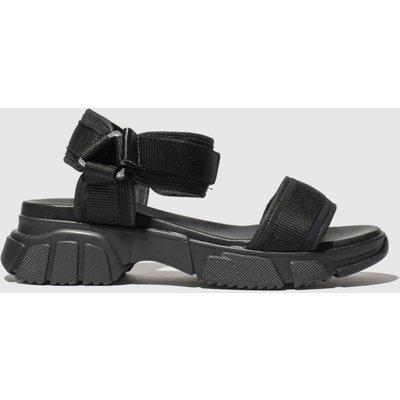Schuh Black Energise Sandals