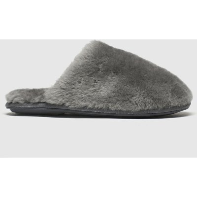 Schuh Grey Lounge Around Slippers