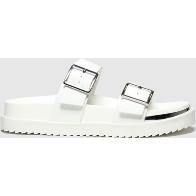 Schuh White Superstitious Sandals