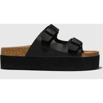 Schuh Black Dominican Sandals