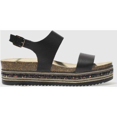 Schuh Black Orlando Sandals