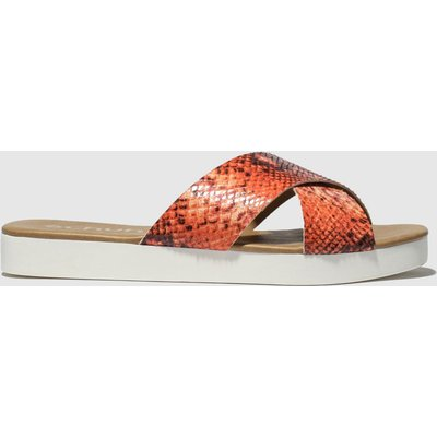 Schuh Orange Mykonos Sandals