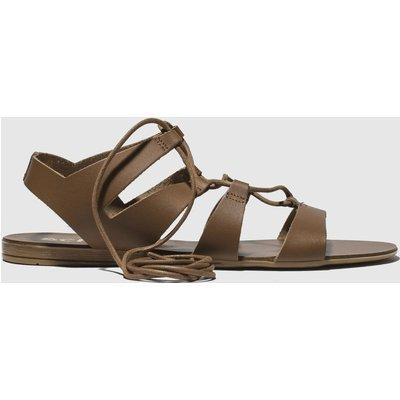Schuh Tan Belize Sandals