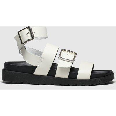 Schuh White Sunshine Sandals