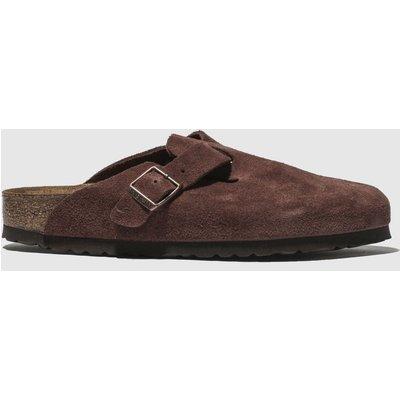 Birkenstock Burgundy Boston Sandals