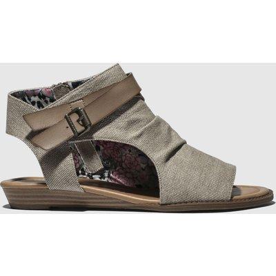Blowfish Beige & Brown Balla Sandals