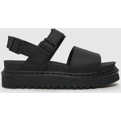 Dr Martens Black Zebrilus Voss Sandals