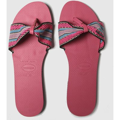 Havaianas Pink You St Tropez Fita Sandals