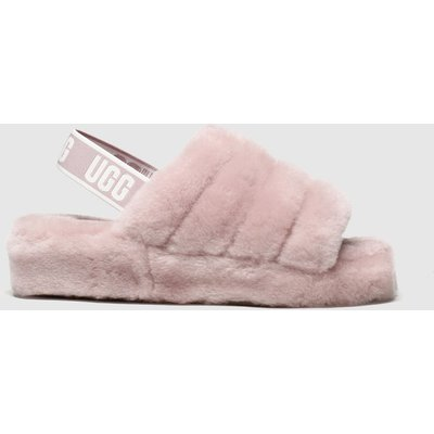 Ugg Pale Pink Fluff Yeah Slide Slippers