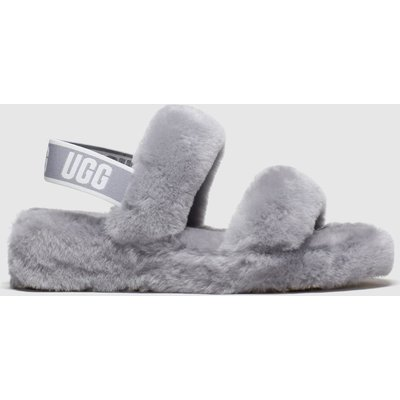 Ugg Grey Oh Yeah Slippers