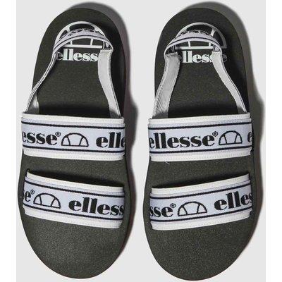 Ellesse Black & White Giglio Sandals