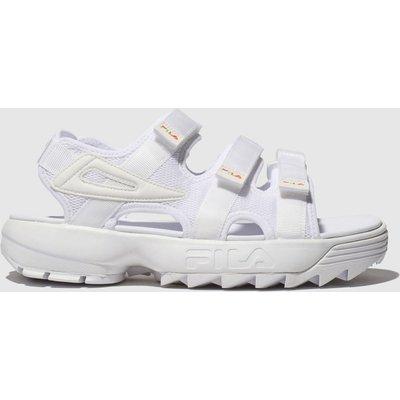 Fila White Disruptor Sandal Sandals