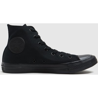Converse Black All Star Hi Trainers