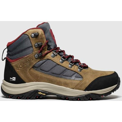Columbia Tan 100mw Mid Outdry Trainers
