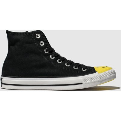 Converse Black & White All Star Carnival Hi Trainers