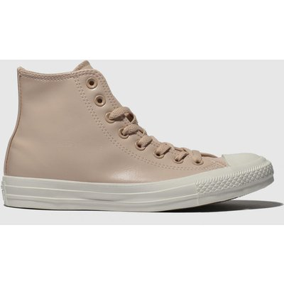 Converse Pale Pink All Star Craft Hi Trainers