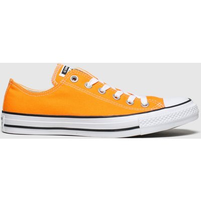 Converse Orange All Star Ox Trainers