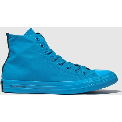Converse Blue Chuck Taylor All Star Opi Trainers