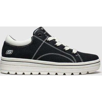 Skechers Black Street Cleats 2 Bring It Trainers