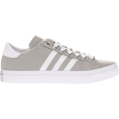 adidas light grey court vantage trainers - 4055017478461