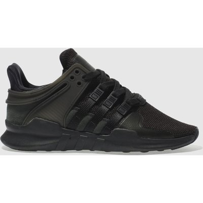 adidas black eqt support adv trainers - 4058025061274