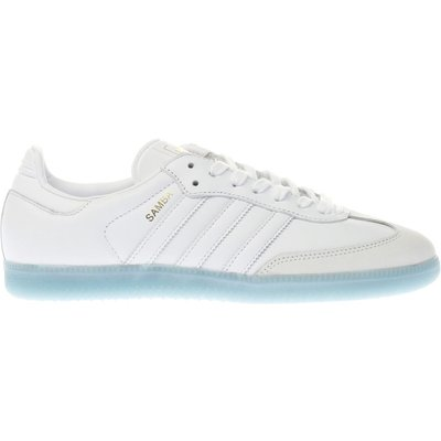 adidas white   pl blue samba trainers - 4058025281146