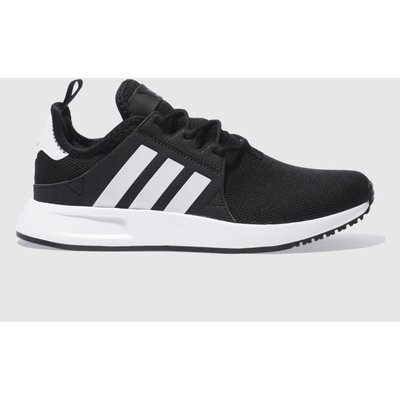 adidas black   white x plr trainers - 4058025436348