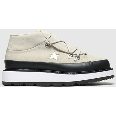 Converse Natural One Star Boot Trainers