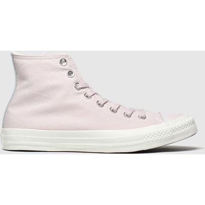 Converse Pale Pink All Star Hi Trainers