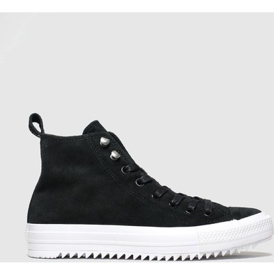 Converse Black & White Hiker Final Frontier Hi Trainers