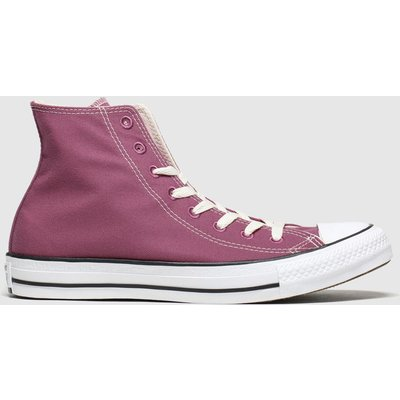 Converse Burgundy All Star Renew Hi Trainers