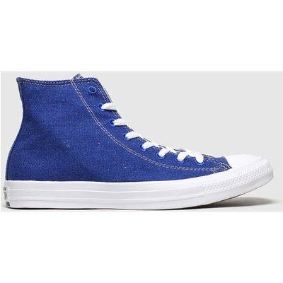 Converse Blue Renew Hi Trainers