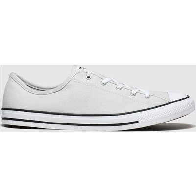 Converse Light Grey All Star Dainty Gs Ox Trainers