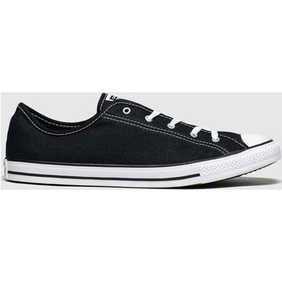 Converse Black & White All Star Dainty Gs Ox Trainers