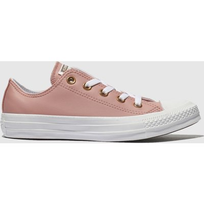 Converse Pink All Star Craft Ox Trainers